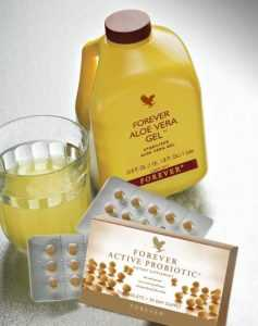 Forever Active Probiotic si Aloe Vera Gel